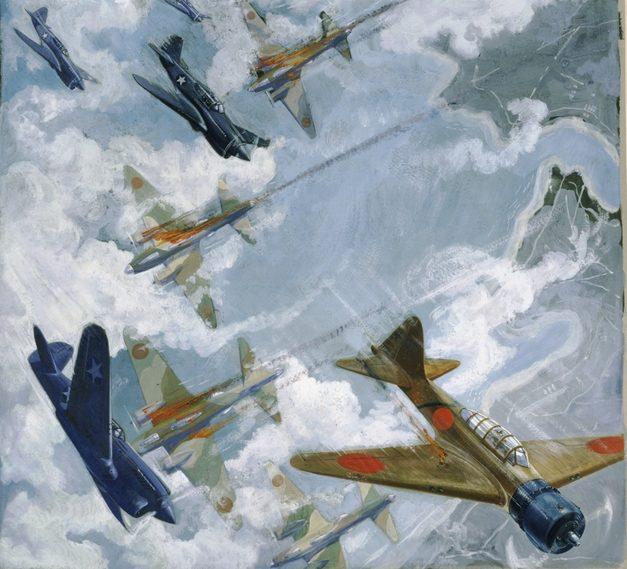 Hodgkinson Roy. Воздушный бой над портом Darwin.