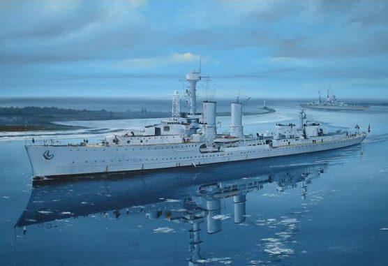 Wilson Randall. Легкий крейсер «Emden».