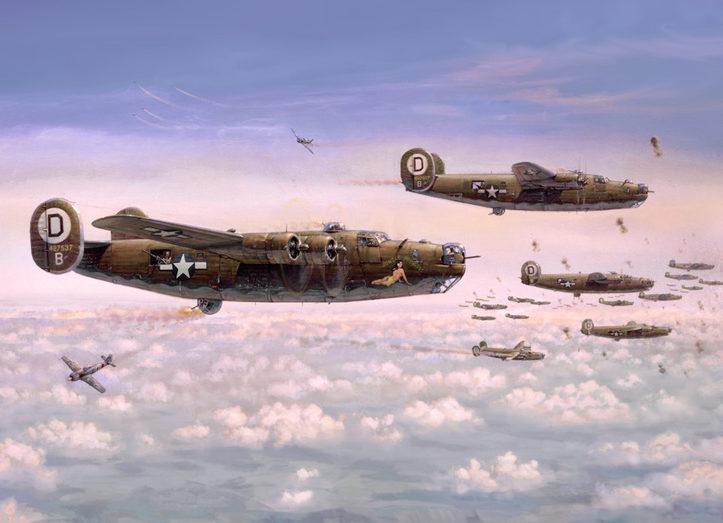 Laurier Jim. Бомбардировщики B-24 Liberators.