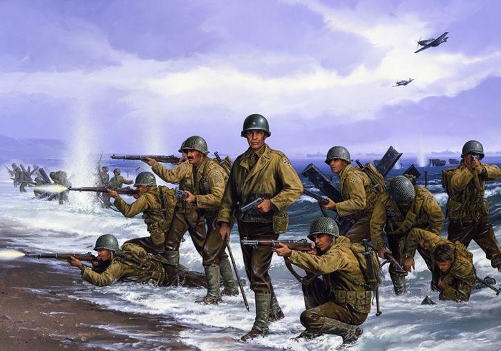 Strain John Paul. Морской десант.