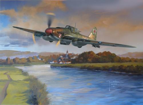 Wrobel Jaroslaw. Штурмовик Ил-2.
