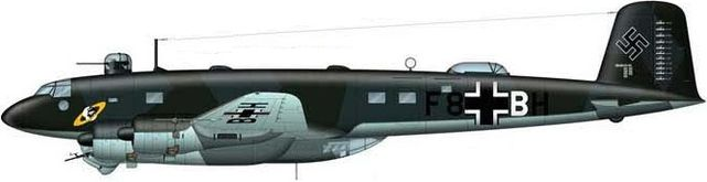 Tilley Pierre-André. Бомбардировщик Fw-200C-3.