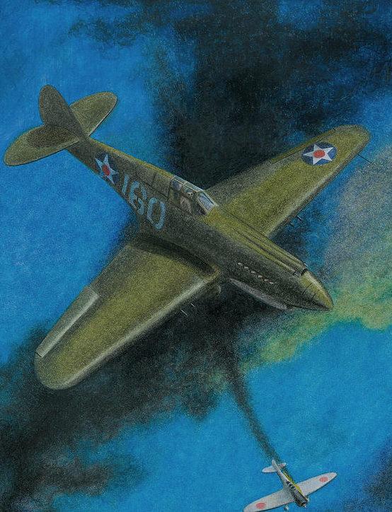 Lisinski Norb. Истребитель Р-40.