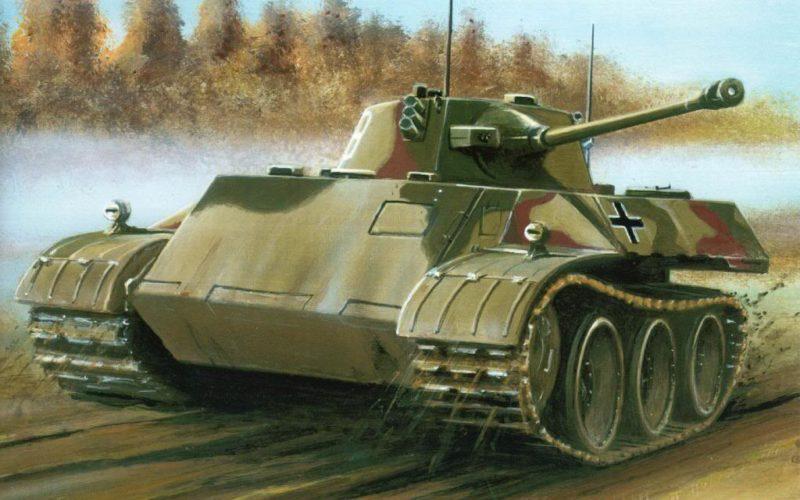 Greer Don. Танк VK 1602 Leopard.