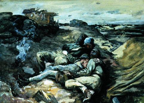 Bromberg Manuel. Солдаты на отдыхе.