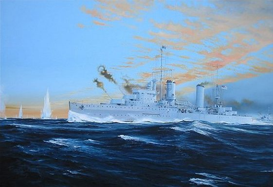 Wilson Randall. Легкий крейсер «Sydney».
