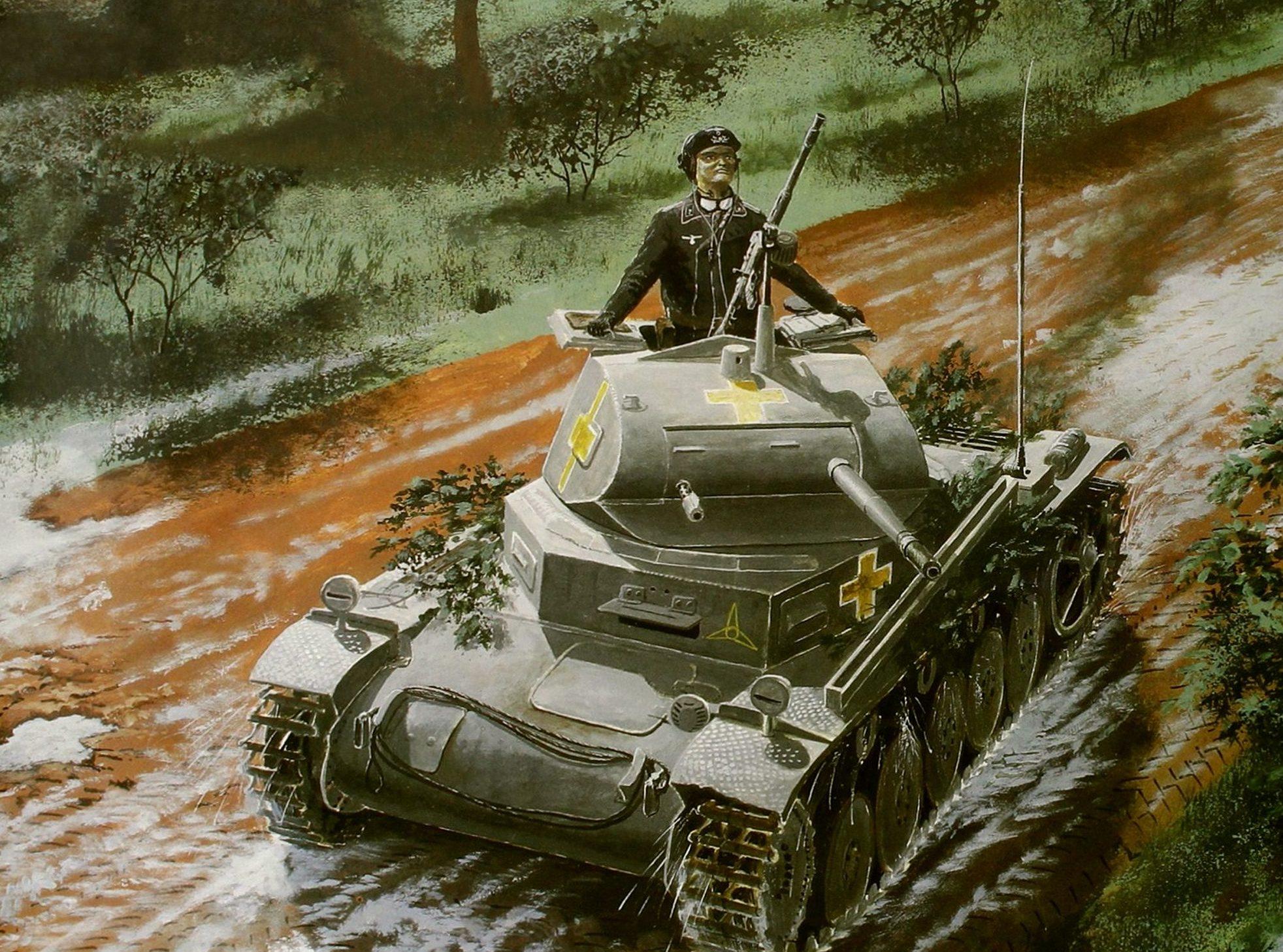 Feist Uwe. Танк Panzer II.