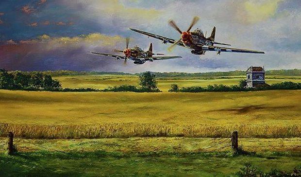 Herter Rick. Истребители P-51 Mustang.