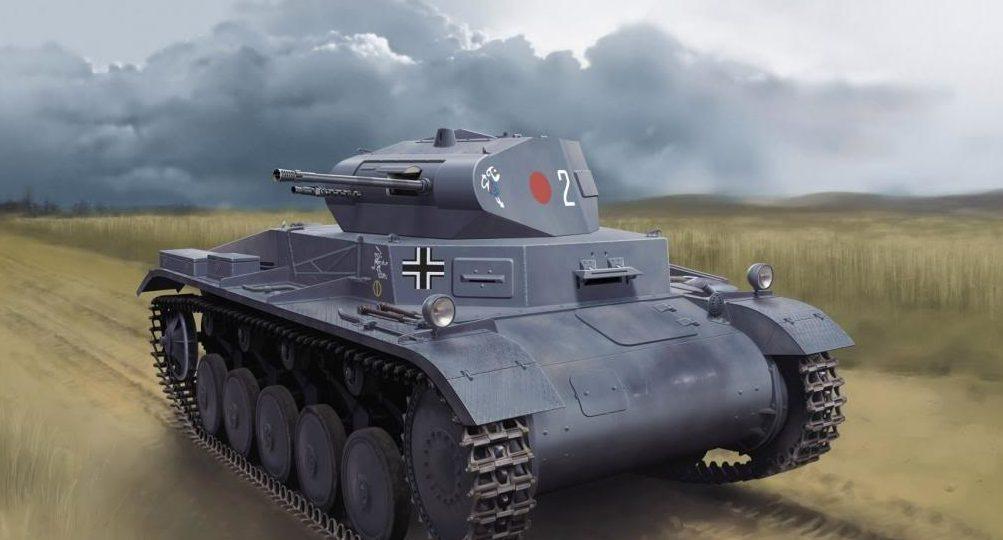 Greer Don. Танк Panzer II.