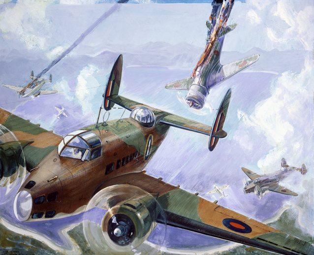 Hodgkinson Roy. Разведывательная эскадрилья.