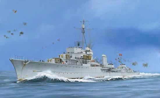 Wilson Randall. Немецкий эсминец Z-43.