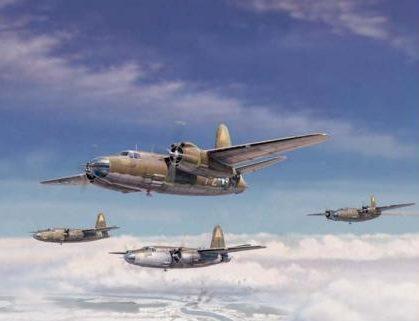 Laurier Jim. Бомбардировщики Martin B-26 Marauder.