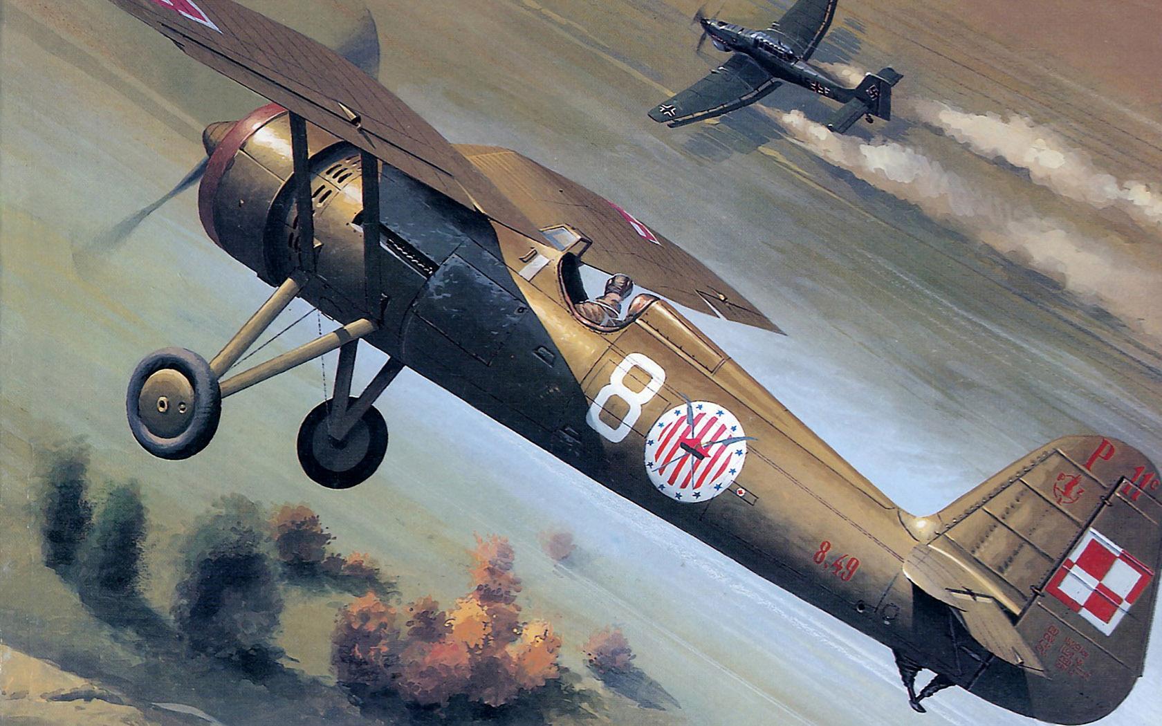 Wrobel Jaroslaw. Истребитель PZL. Р-11.