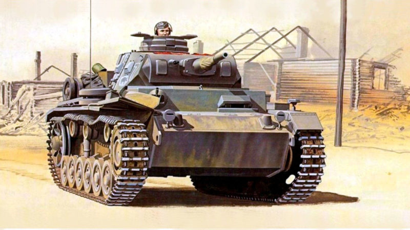 Greer Don. Танк Panzer III 10 Pz Div.