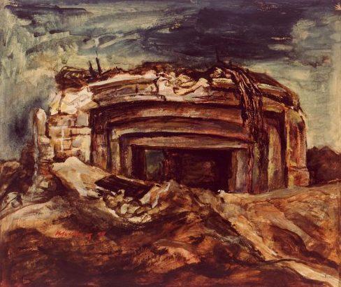 Bromberg Manuel. Руины береговой батареи.