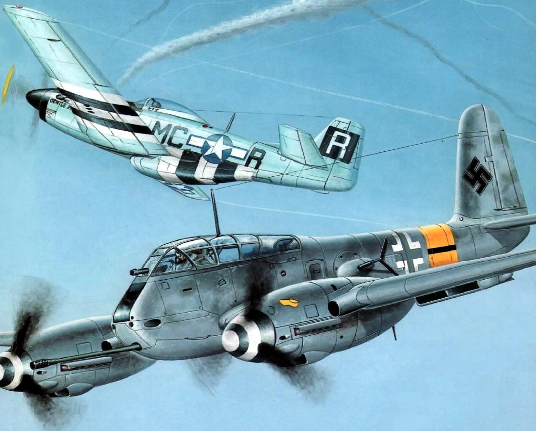 Fleischer Seweryn. Истребитель Ме-410.