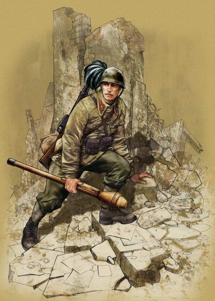 Fabbri Davide. Солдаты.
