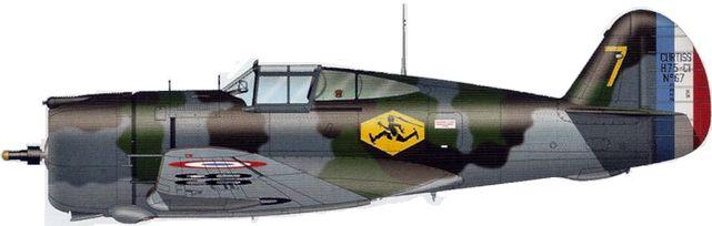 Tilley Pierre-André. Истребитель Curtiss H-75 A-1.