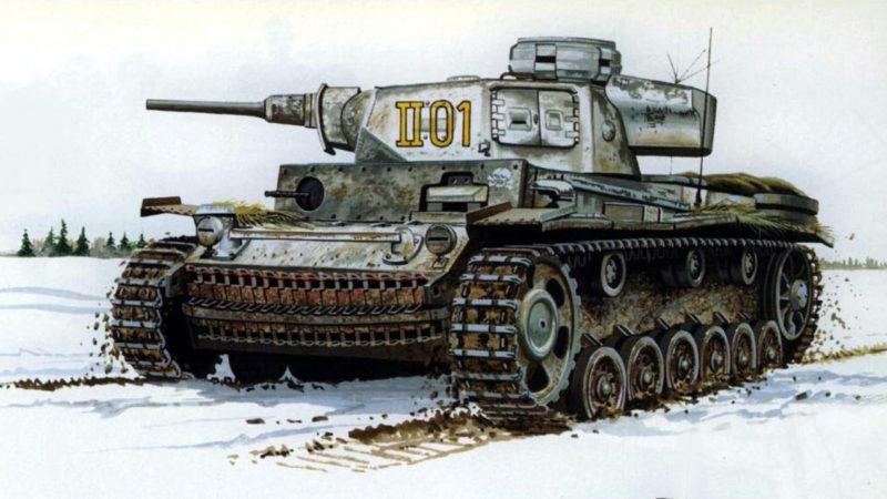 Greer Don. Танк Panzer III Ausf K.