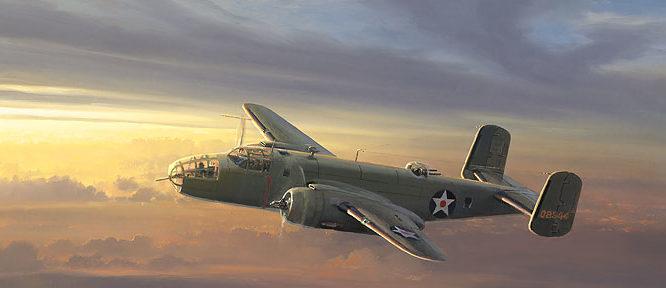 Phillips William. Бомбардировщики В-25.