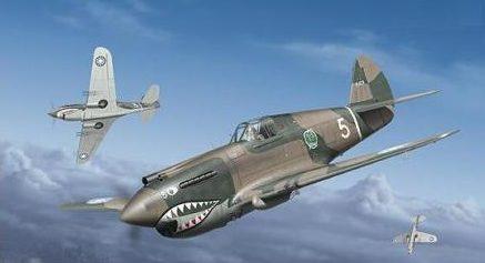Tullis Tom. Истребитель Curtiss P-40 B.