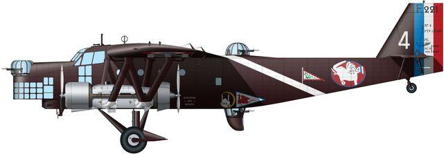 Tilley Pierre-André. Бомбардировщик Farman 221.