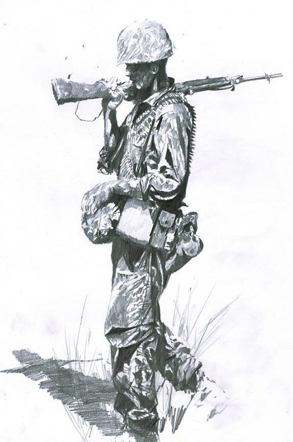 Askew Jason. Пехотинец.