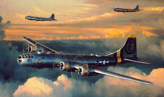 Phillips William. Бомбардировщики В-29.