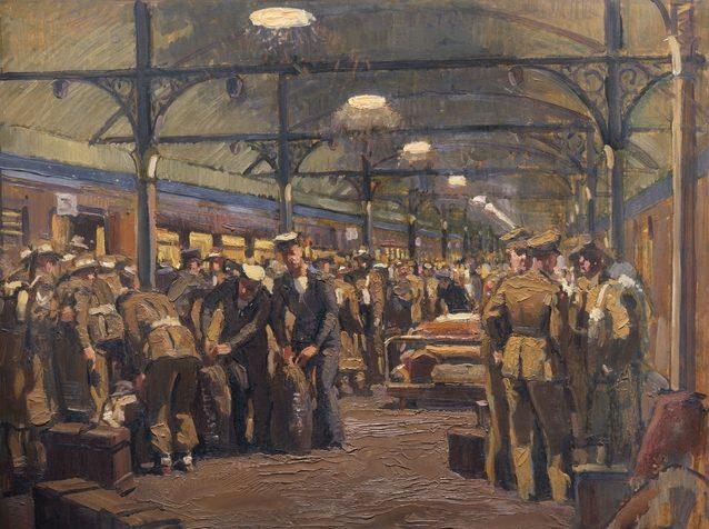 Mainwaring Geoffrey. Станция Albury. Январь 1943 г.