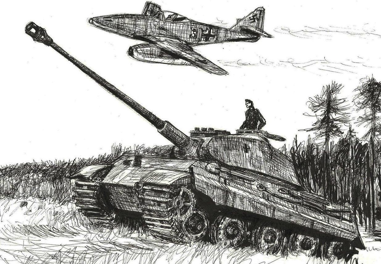 Zackary Smith. Немецкие танки.