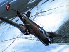 Fleischer Seweryn. Бомбардировщик Ju-86.