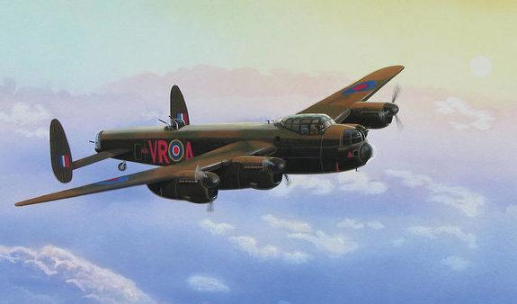 Lisinski Norb. Бомбардировщик Lancaster.