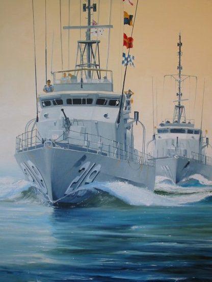 Wilson Randall. Сторожевые (патрульные) корабли.