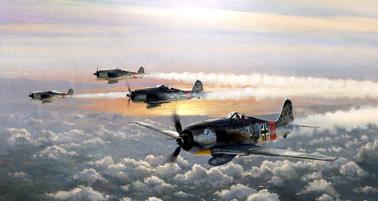 Ferris Keith. Истребители Fw-190A.