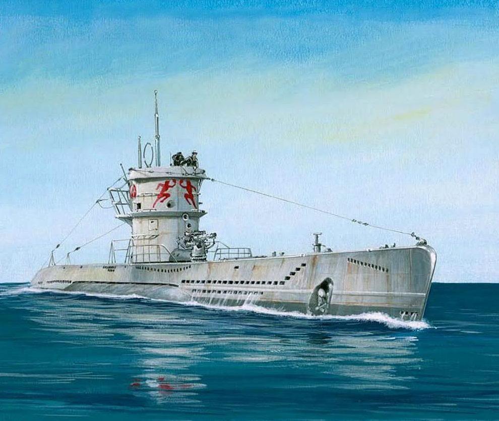 Fleischer Seweryn. Подлодка U-552.