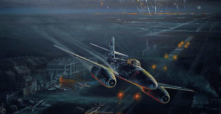 Bailey Robert. Ночные полеты Ме-262.