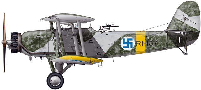 Tilley Pierre-André. Истребитель Blackburn Ripon IIF.