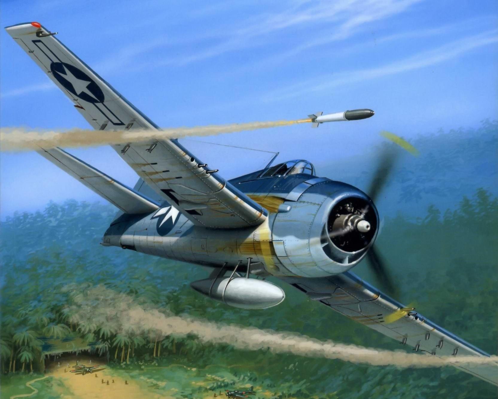 Wróbel Arkadiusz. Истребитель Grumman F-6F Hellcat.