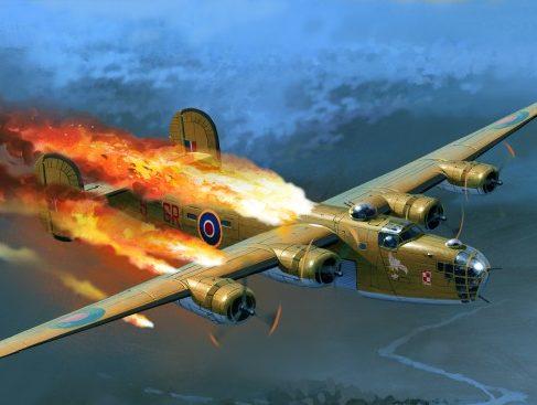 Wrobel Jaroslaw. Горящие бомбардировщики.