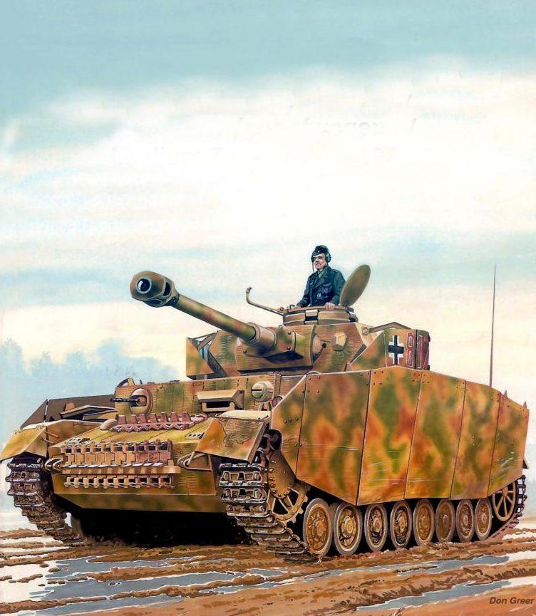 Greer Don. Танк Panzer IV Ausf. H.