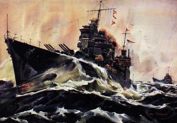 Beaumont Arthur. Тяжелый крейсер «Astoria».