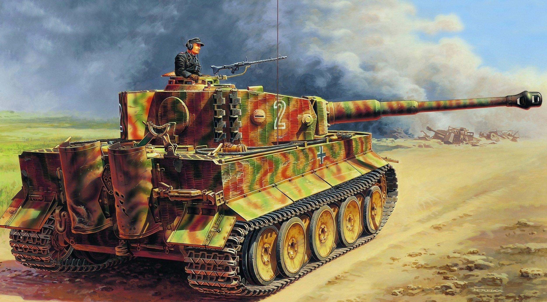 Deredos Andrzej. Танк Pz.Kpfw. VI (Tiger I).