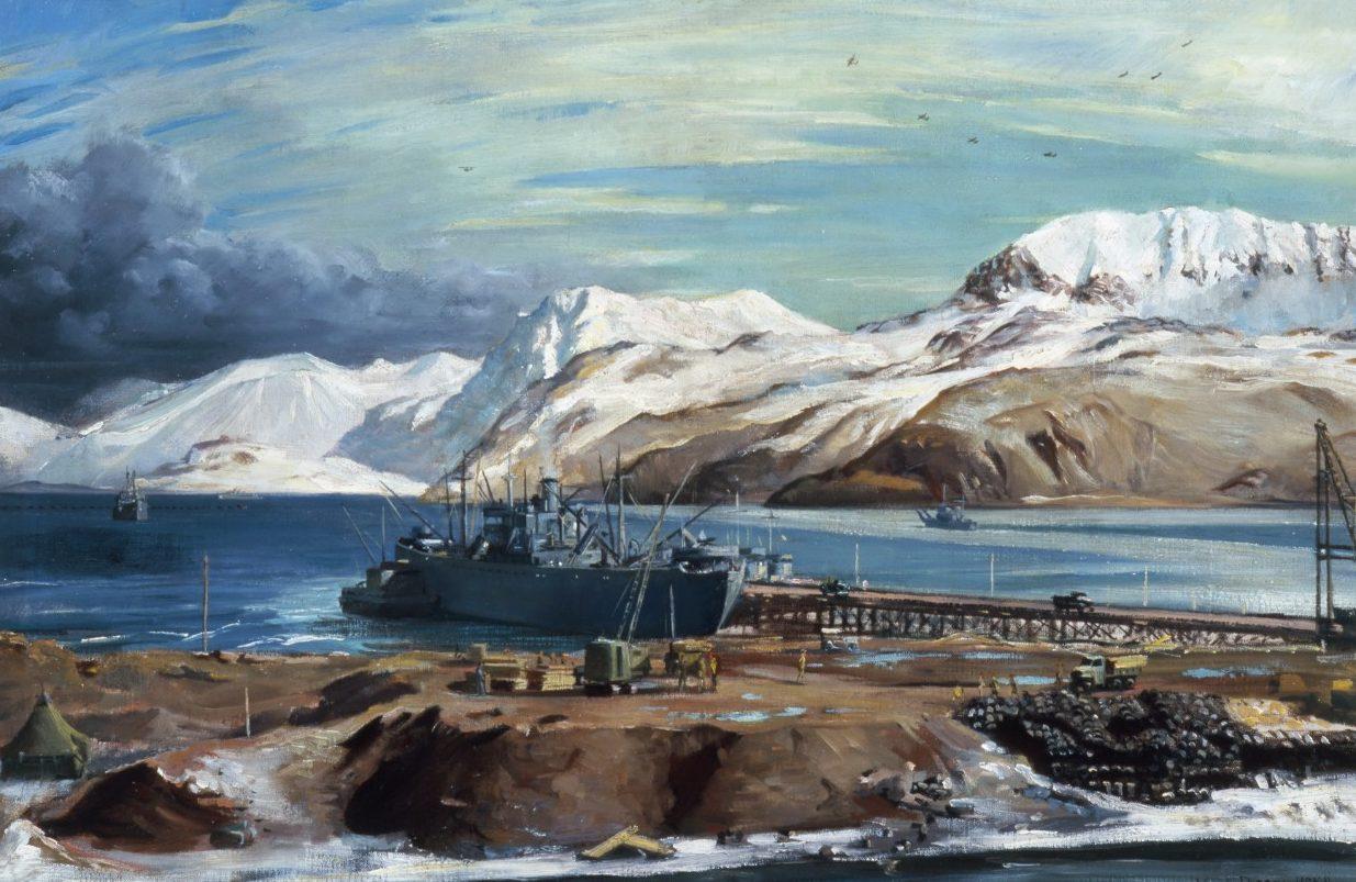 Draper William. Военная база Adak.