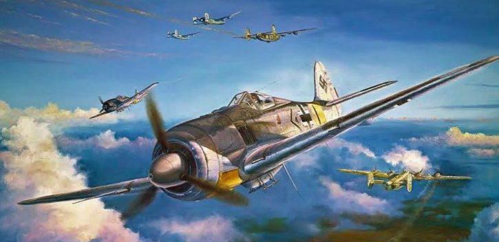 Herter Rick. Истребитель FW-190.