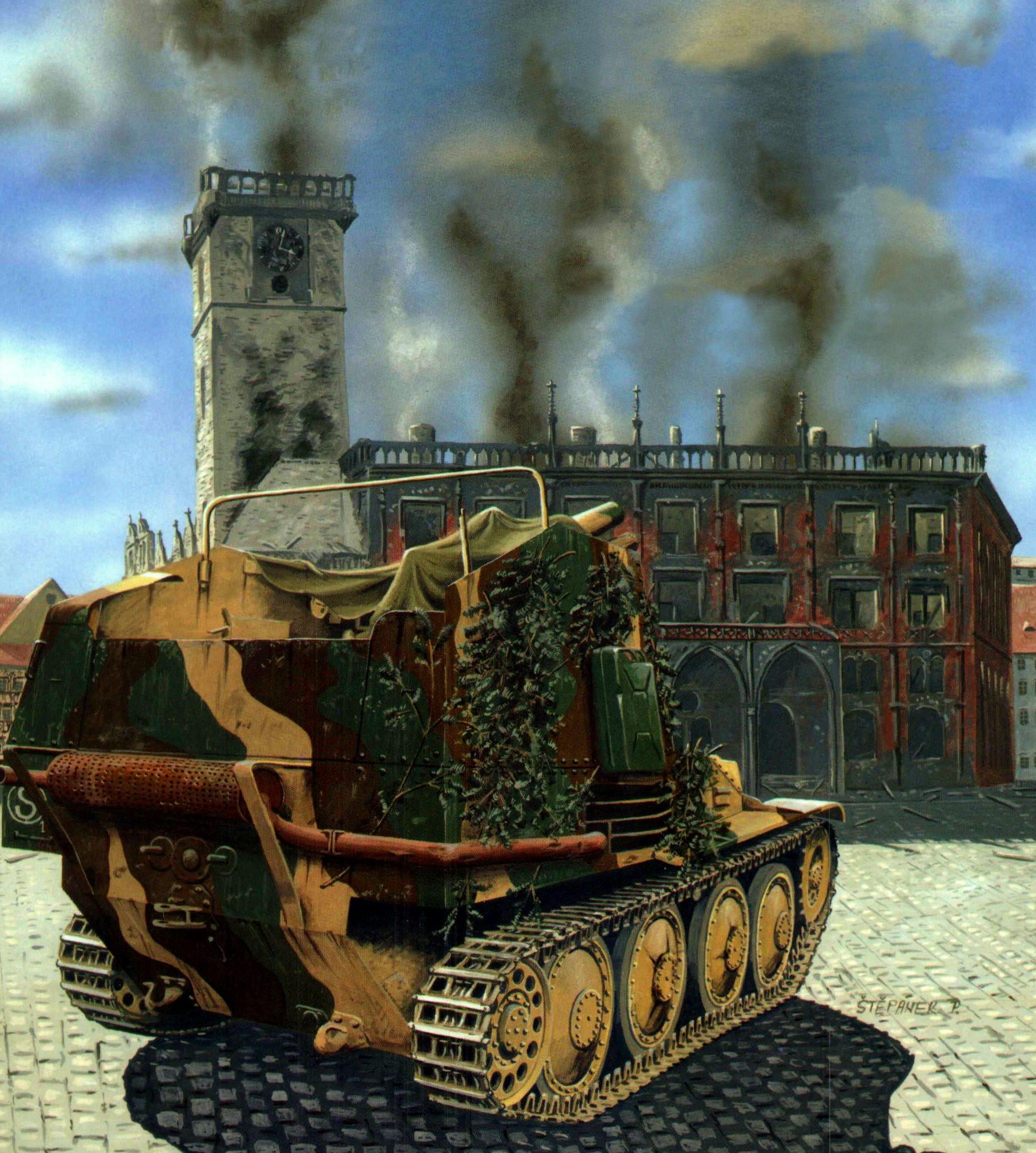 Maio Enzo. САУ Marder III Ausf. M.