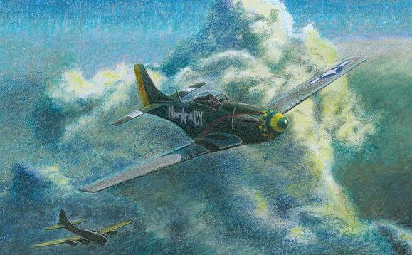 Lisinski Norb. Эскорт бомбардировщиков.