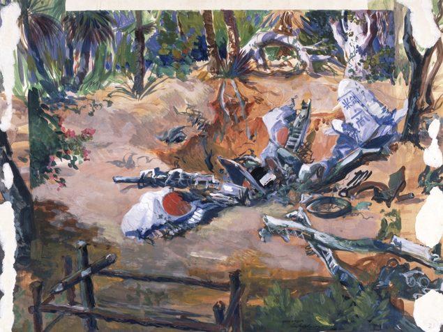 Hodgkinson Roy. Японский истребитель «Zero» в Австралии.