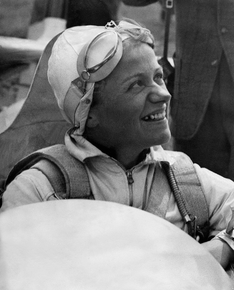Летчица капитан Люфтваффе - Ханна Рейч.