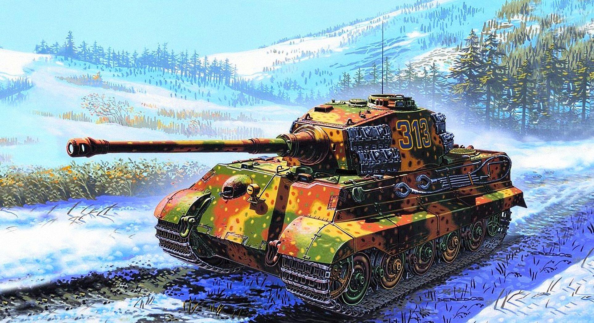 Deredos Andrzej. Танк Pz.Kpfw. VI (Tiger II).
