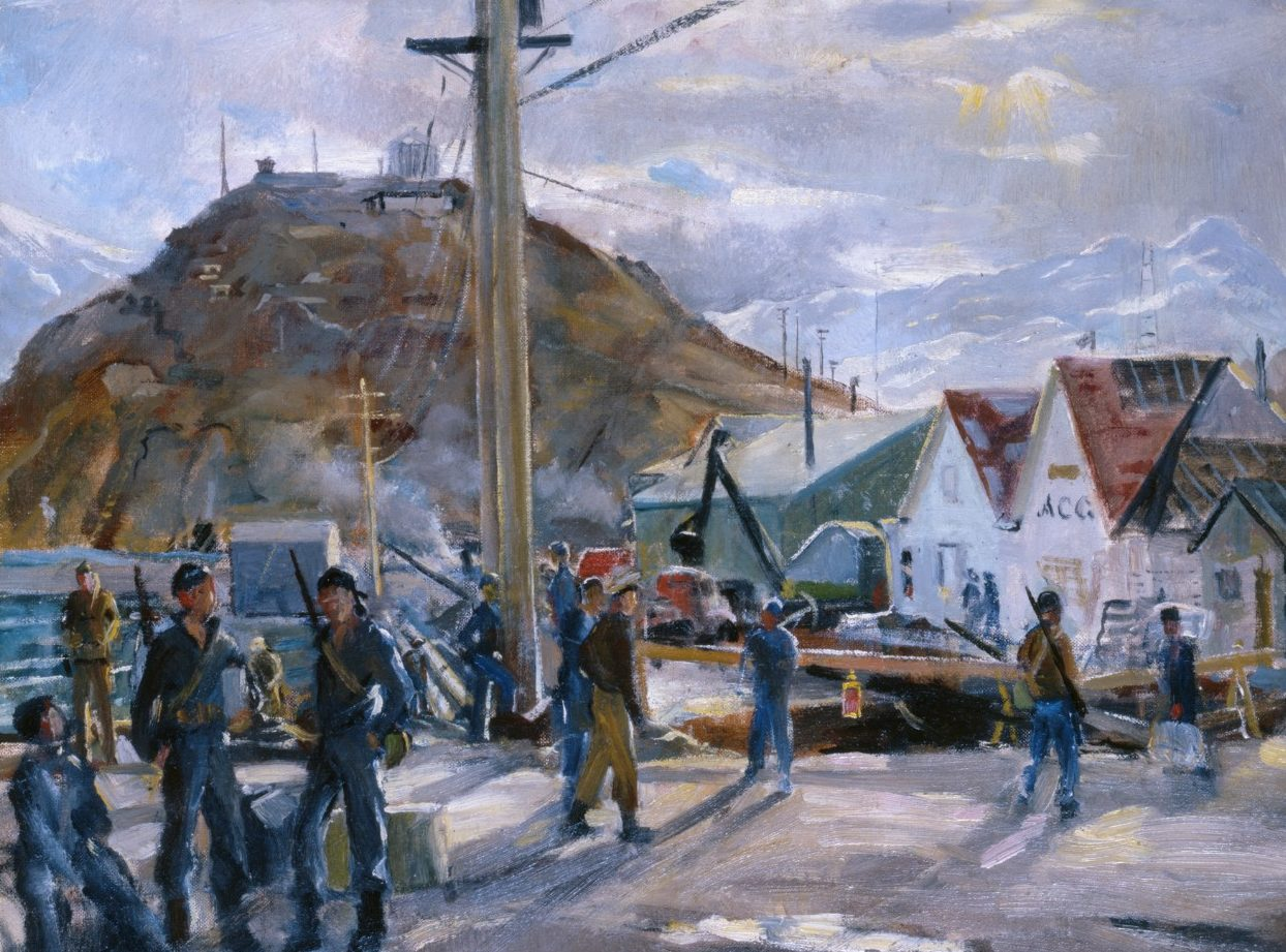 Draper William. Порт на Аляске.